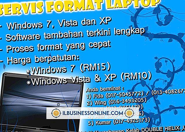 Sådan formater du en bærbar computer med Vista