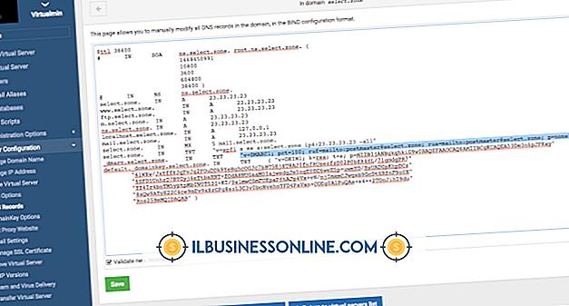 Kategori företagsteknik och kundsupport: Så här skriver du in en SPF-post i Microsoft DNS