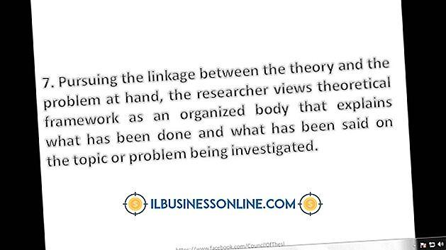 So schreiben Sie einen theoretischen Rahmen für die Kundenzufriedenheit