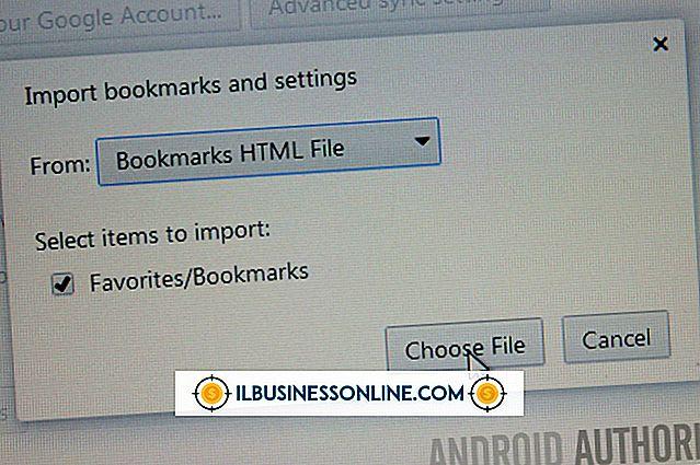 Categorie zakelijke technologie en klantenondersteuning: Bladwijzers exporteren van Chrome naar Android