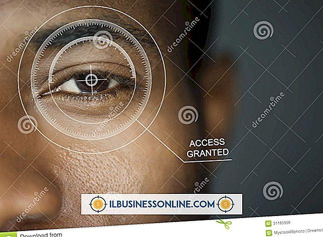Augenscan-Sicherheit auf Laptops
