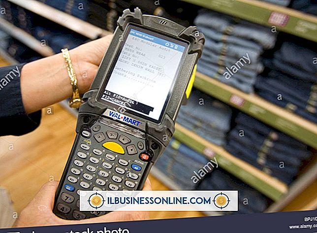 हाथ में स्कैनर जो लेबल पढ़ सकते हैं