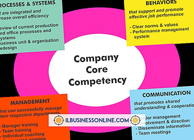 Thể LoạI công nghệ kinh doanh & hỗ trợ khách hàng: Ví dụ về năng lực cốt lõi cho một công ty sưởi ấm