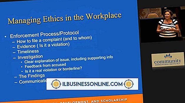 Hoe ethisch gedrag op de werkplek te handhaven