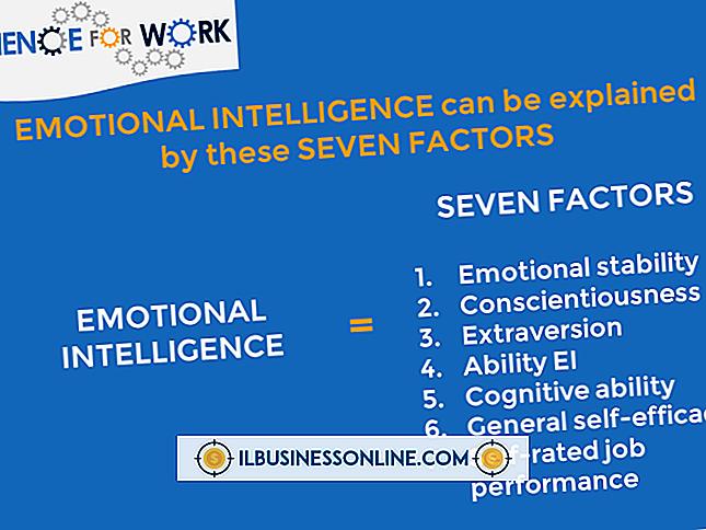Kategori forretnings- og arbeidsplassforskrifter: Emosjonell intelligens og effektivitet på arbeidsplassen