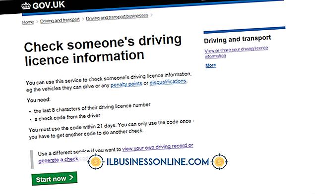 Como verificar a licença comercial de alguém