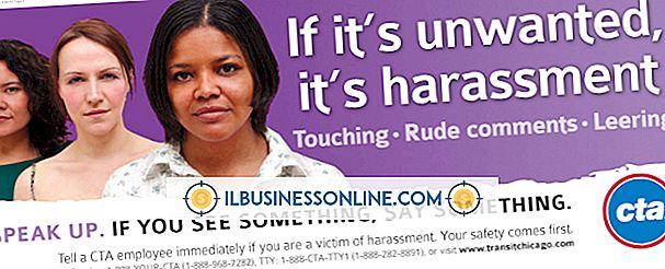 Belästigung und politische Poster am Arbeitsplatz