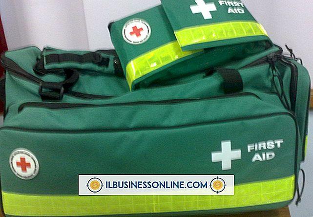 หมวดหมู่ ข้อบังคับทางธุรกิจและสถานที่ทำงาน: ชุดปฐมพยาบาลสำหรับร้านอาหาร