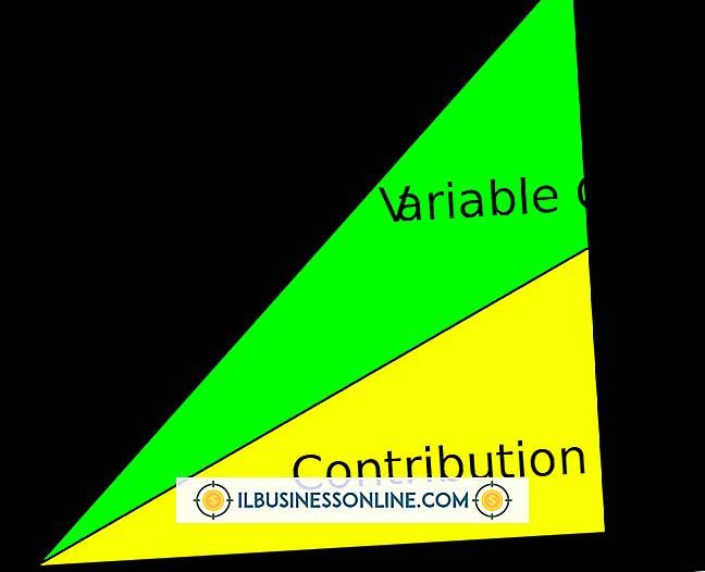 Kategori finanser og skatter: Variabel Margen Vs.  Bruttomargin