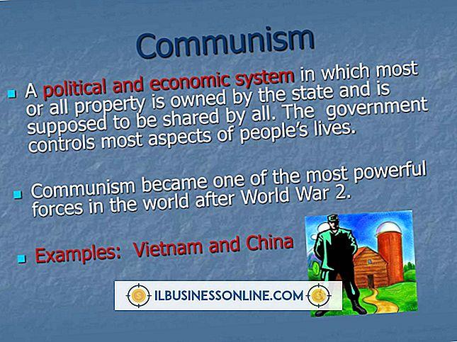 Wirtschaftssystem des Kommunismus