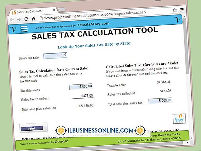 วิธีคำนวณภาษีโดยประมาณของคุณใน S Corporation