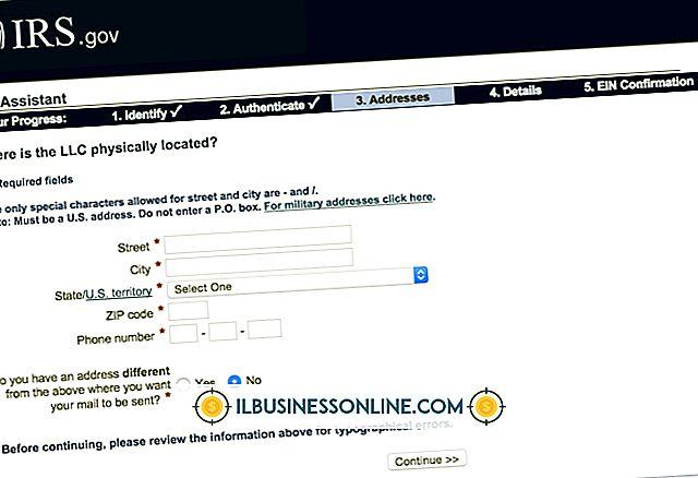 Kategori finanser og skatter: Sådan ændres en adresse på et arbejdsgiveridentifikationsnummer