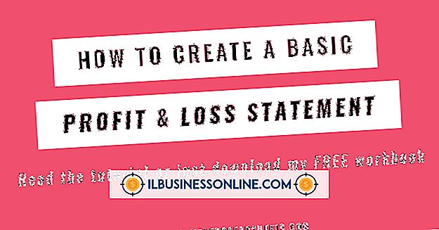 So erstellen Sie Gewinn- und Verlustberichte