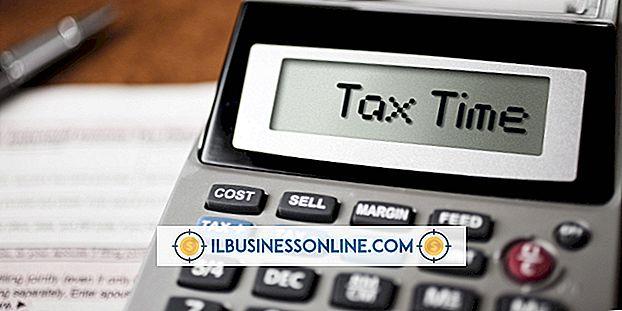 Die Dokumente für die Steueranmeldung, wenn ich ein kleines Unternehmen besitze