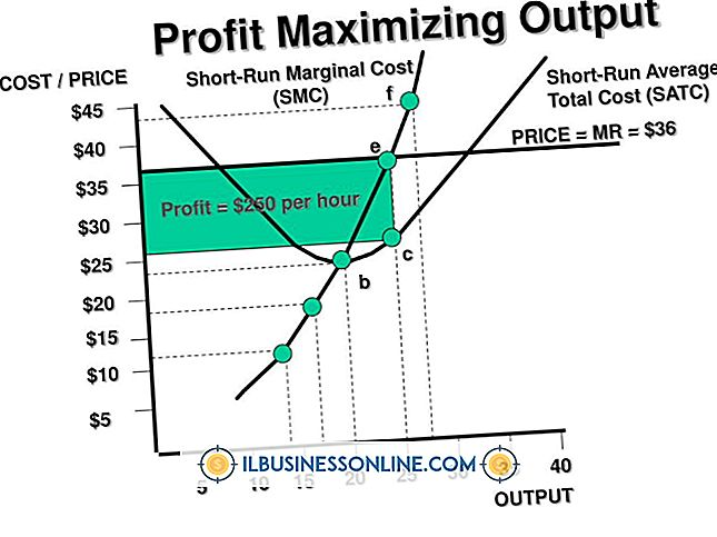 Hoe winst te berekenen Maximale output