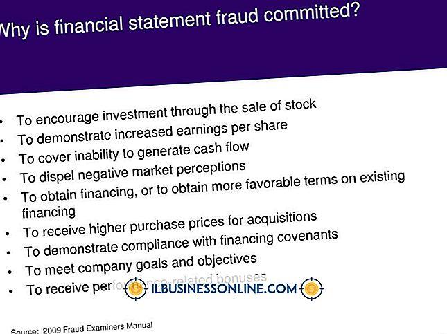 Was ist Bilanzbetrug?