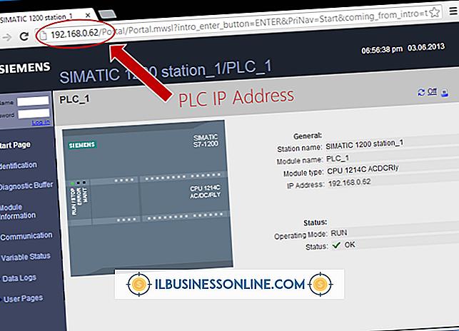 Como exibir um endereço IP em uma página da Web