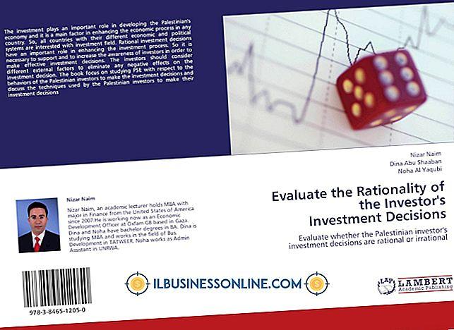 Cómo evaluar las decisiones de inversión empresarial
