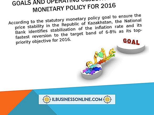 Ziele der expansiven Geldpolitik