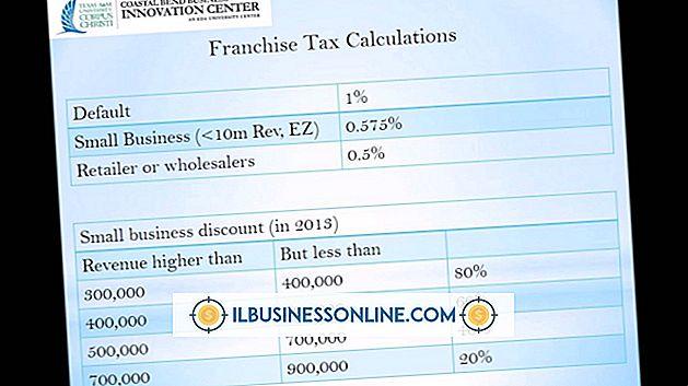 Hva er en franchise skatt?