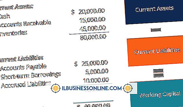 Kategorie Finanzen & Steuern: So ermitteln Sie das Betriebskapital aus einem Abschluss