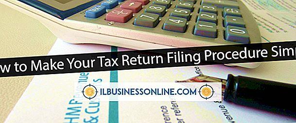 Cómo presentar la declaración de impuestos por separado de un socio comercial