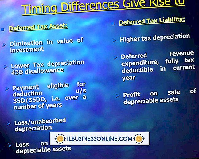 Categoria finanças e impostos: O que causa uma responsabilidade fiscal diferida?