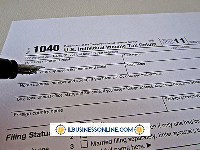 Federal Income Tax Filing Form 1040 Anweisungen