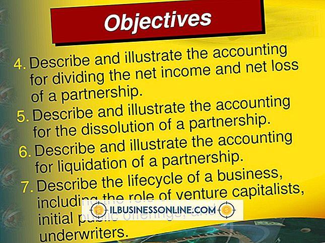 श्रेणी वित्त और करों: नेट लॉस के साथ एक साझेदारी को विभाजित करना