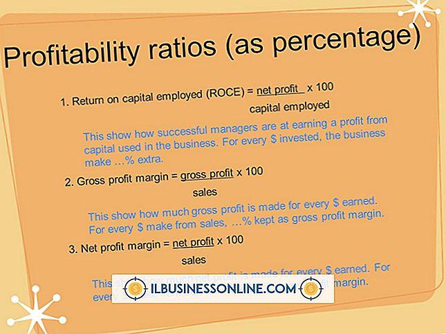 Welche Abschlüsse zeigen die Rentabilität eines Unternehmens?