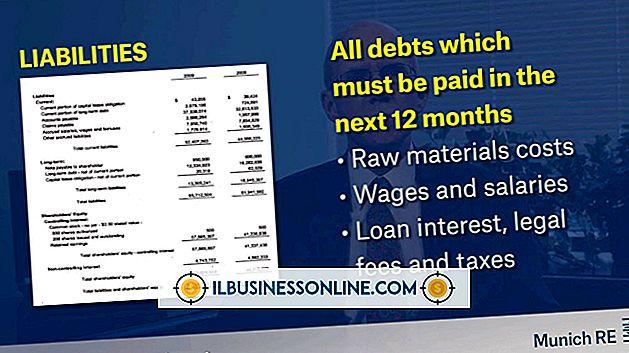 Kategorie Finanzen & Steuern: Elemente einer Bilanz