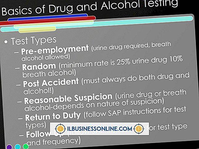 ¿Para qué analizan normalmente las pruebas de drogas en orina de los empleados?