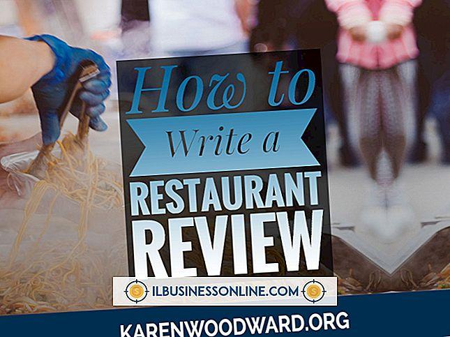Bagaimana Cara Menulis Kebijakan Restoran