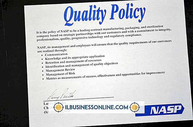 Thể LoạI nguồn nhân lực: Giải thích các Mục tiêu Chính sách Chất lượng ISO
