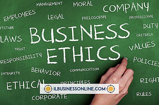 Welche Herausforderungen stellt sich für ein Unternehmen, wenn es um Ethik geht?