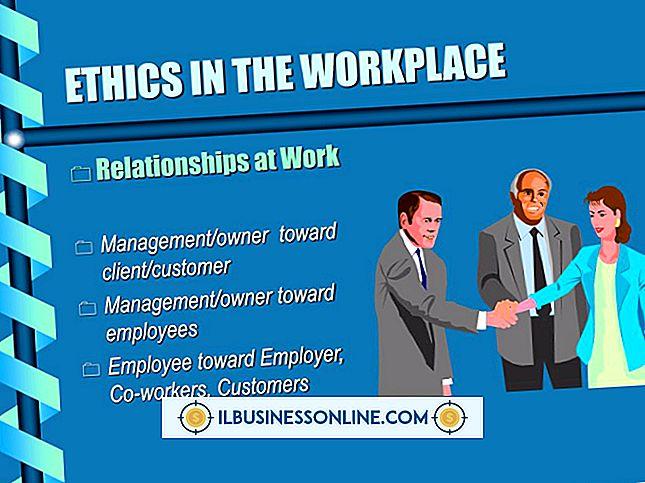 Ejemplos de ética empresarial en el lugar de trabajo