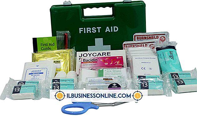 Erste-Hilfe-Sets für Unternehmen