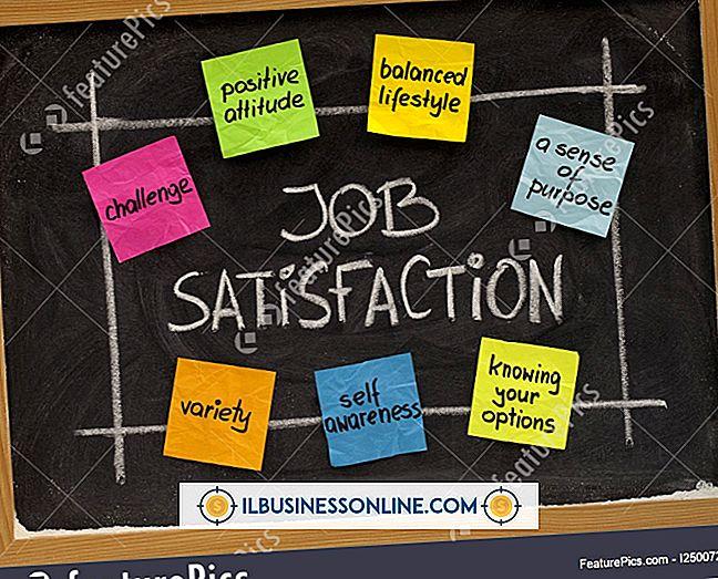 Mått på jobbtillfredsställelse