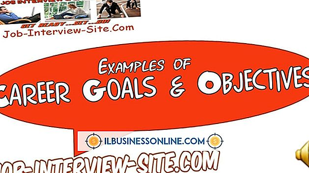 Categoría empleados administrativos: Ejemplos de objetivos de empleo