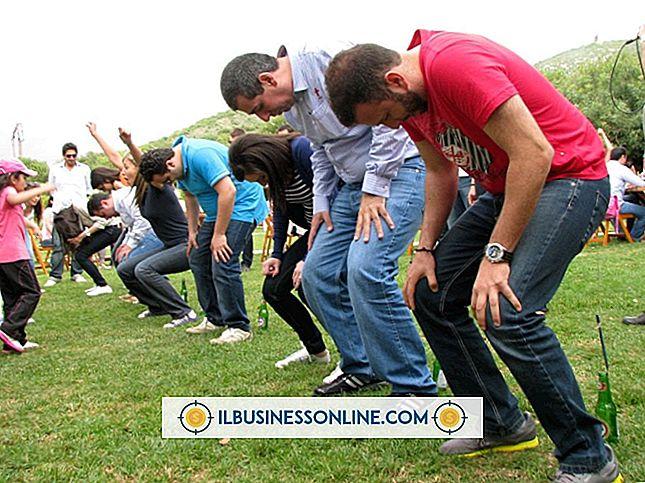 Kategori forvalte medarbejdere: Eksempler på Business Team-Building Aktiviteter