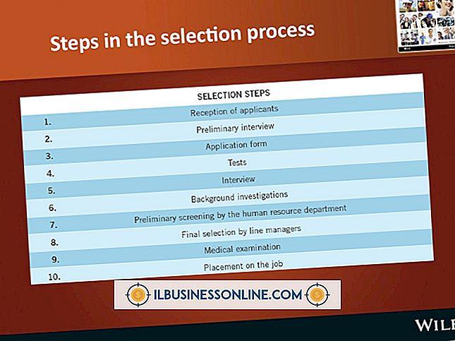 El proceso de selección de empleados