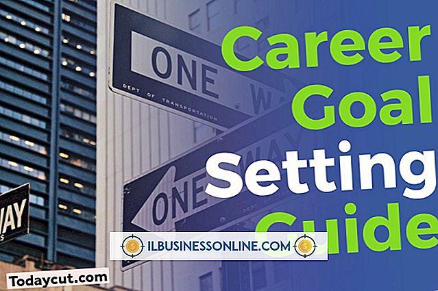 Ziele für einen Beschäftigungsspezialisten