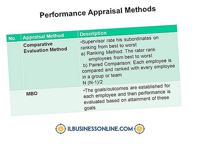 कर्मचारियों का प्रबंधन - प्रदर्शन मूल्यांकन के लिए दो तरीके