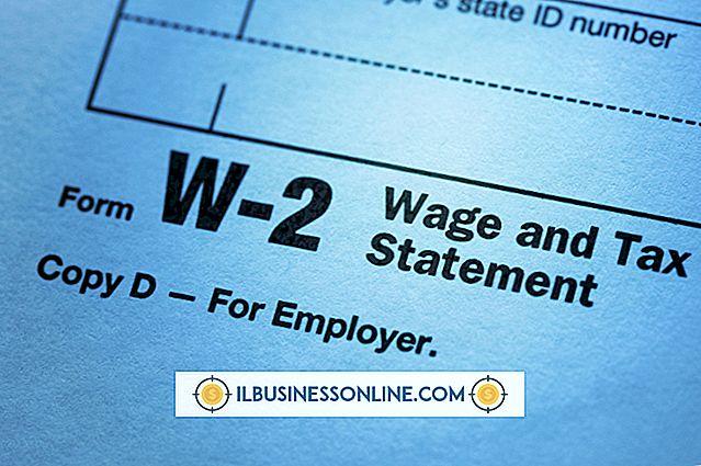 W2s für Mitarbeiter durchführen