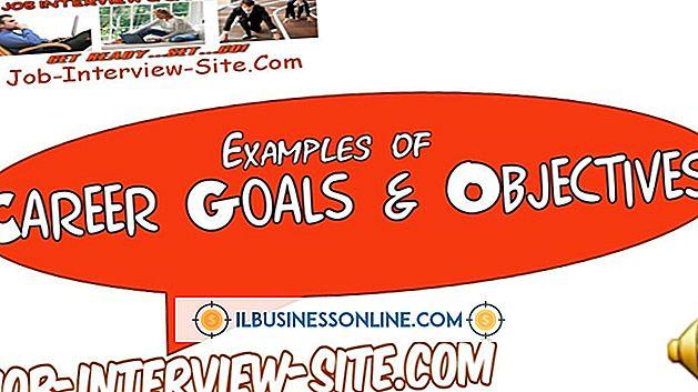 Ejemplos de objetivos del empleado
