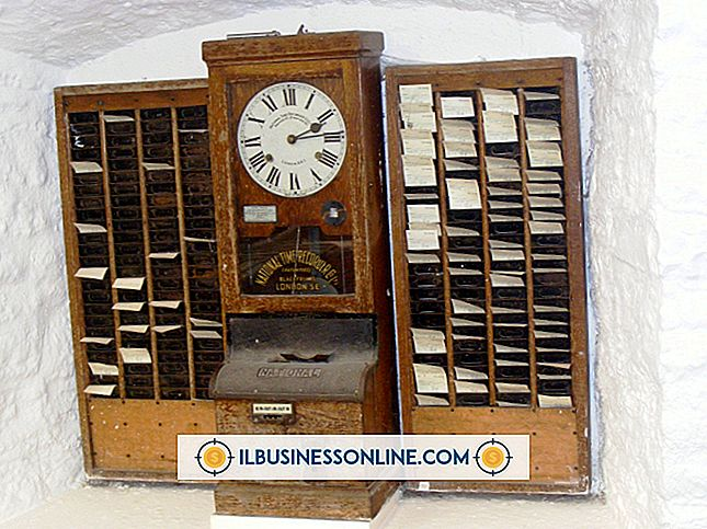 कर्मचारियों का प्रबंधन - कर्मचारी समय घड़ियों के प्रकार