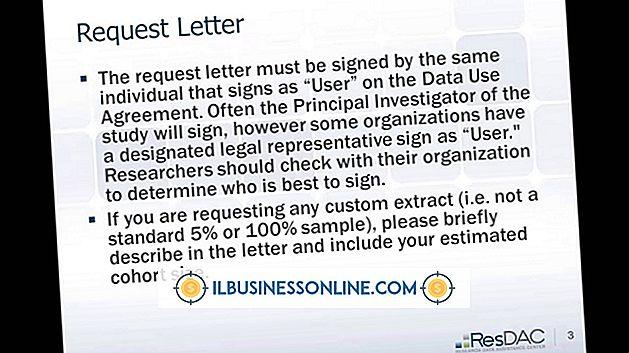 Kategorie Geld & Schulden: So schreiben Sie einen Brief, in dem die Corporation Credit beantragt wird