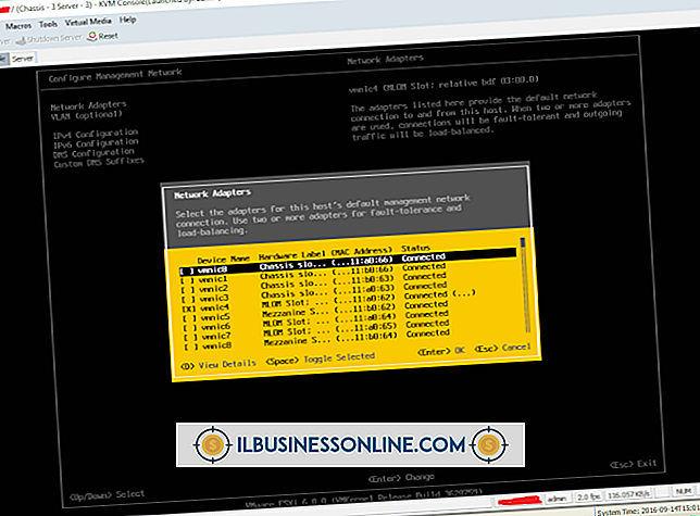 Inaktivera en avlastning på VMNic i VMware