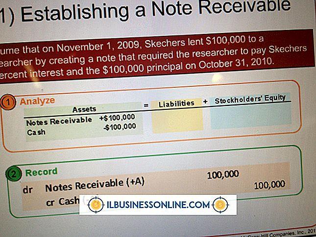 कंपनियों के उदाहरण जो प्राप्य नोटों का उपयोग करते हैं