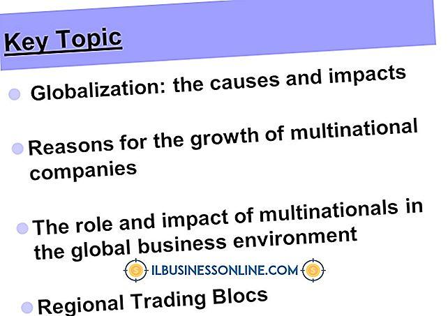 Effekten av regionale handelsblokk på småbedrifter